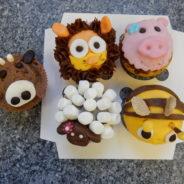 Tier-Muffins dekorieren