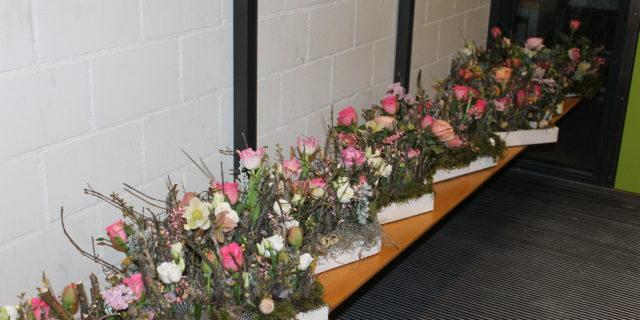 Florale Frühlingsdekoration
